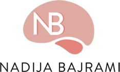 Nadija Bajrami Hypnotherapist and Mind Coach and Medium, Logo